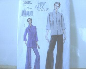 Vogue Very Easy v8566 jacket & pants