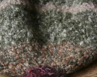 Soft hat made of crochet