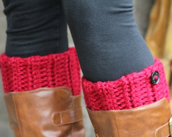 Boot Cuffs, Boot Toppers, Boot Socks, Leg Warmers, Womens/Teens Boot Cuffs, Textured and Stretchy