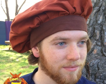 Renaissance Muffin Cap - Copper/Brown