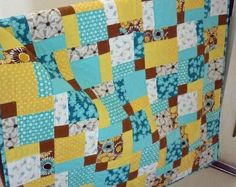 Quilt Pattern for Baby, Baby PDF Quilt Pattern, Easy Quilt Pattern, Easy Baby Quilt Patterns PDF, Instant Download - Sea Breeze