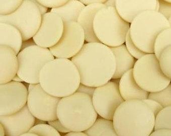 Organic Cocoa Butter Wafers / Raw / Un-Refined