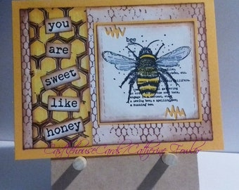 You are sweet like honey