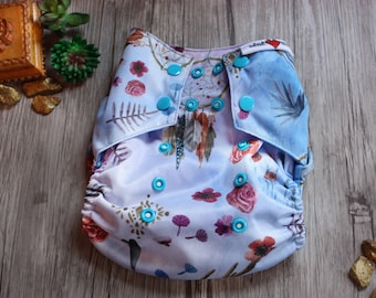 One size cloth diaper BOHO