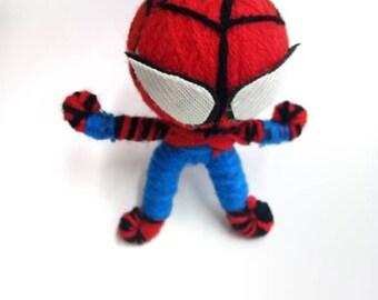 Liinda Handmade Ke Chain, Lovely Tiny Spiderman Keychain