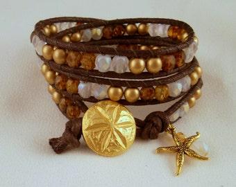 Beach Comber wrap bracelet
