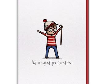 Card - You Found Waldo!