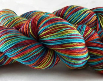 Don't Take my Picture - Hand Dyed Self-Striping Sock Yarn