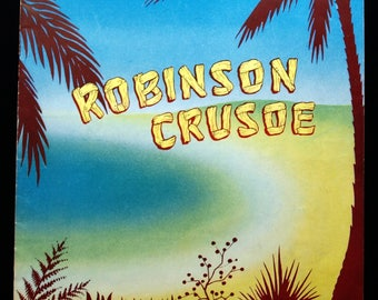 Original programme for Robinson Crusoe at the London Palladium 1957/58 Season