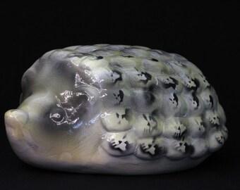 "Skullz, Ceramic Sculpture. Pop Surrealism. 4.5""h x 6.5""w x 11""d"