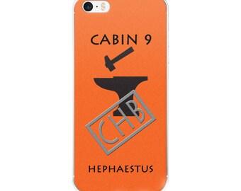 Camp Half-Blood Inspired Percy Jackson Cabin 9 Hephaestus iPhone Case