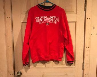 Vintage Nebraska Cornhuskers crewneck