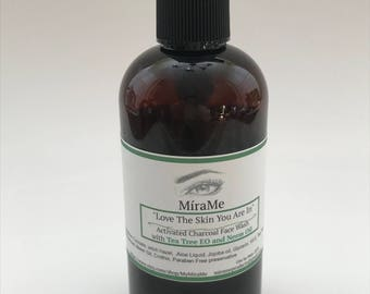Kiss My Face- 4 Oz Activated Charcoal Face Wash
