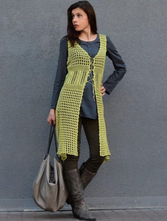 Crochet Duster Pattern Sizes Xs 4xl Crochet Tutorial In