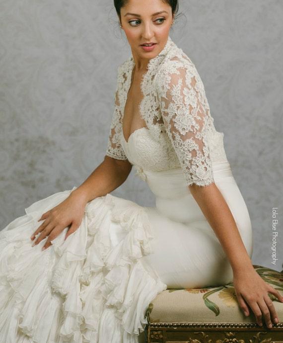 Plus Size Lace Wedding Bolero Plus Size Bolero Lace
