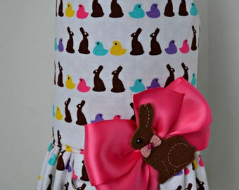 Dog Harness Vest - Chocolate Bunny - Easter