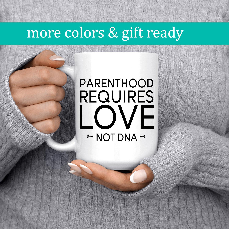 Step Parent Love Quotes Adoption Mug Adoption Quote Foster Parent Step Parent