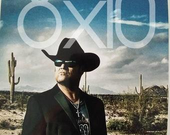 Hub Reynolds Jr. Country Music recording Artist 8x10 autographed photo