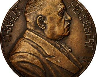 france medal professeur charles heudebert 1942 dropsy ms(63) bronze