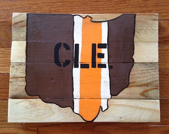 Cleveland Browns Ohio Canvas