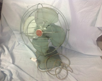 "Vintage General Electric 10"" fan"