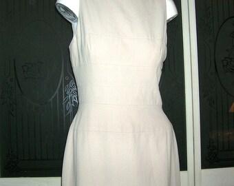 Vintage Unger Mendel Couture Sheath Dress Evening Gown
