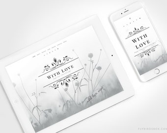 Minimal Blogger Template with an Animated Banner ⊡ Box No33 ⊳ Pre-made Responsive Blogger Theme
