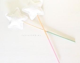Pastel Fairy Wand // Magic Wand // Toy Wand // Photo Prop // Star Wand // Costume Wand // Costume Accessories