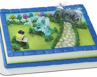 Monsters University Cake Topper Birthday Party Supplies Disney Pixar toys