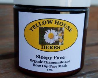 Sleepy Face Chamomile Face Mask