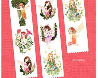 1 Roll Limited Edition Washi Tape - Flower Fairy