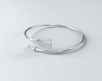 Rowing Jewelry Bracelet Rowing in 925 Sterling Silver / Rowing Gift