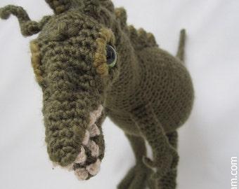 Amigurumi Dinosaurier-Muster
