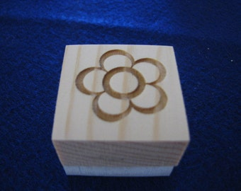 Flower Soap Stamp