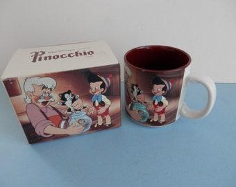 Walt Disney Classic Coffee Mug Pinocchio
