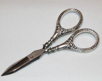 Continental Silver Ladies Vanity Scissors