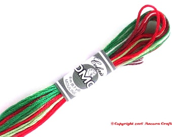 DMC 4520 Coloris Variegated 6 Strand Floss Conte de Noel (Christmas Story)