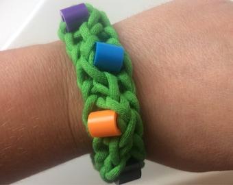 Green Sensory Fidget Bracelet