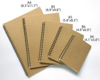 Dot Grid Notebook (Coil-bound). Excellent for Planners and Bullet Journals. High quality 90 GSM paper.
