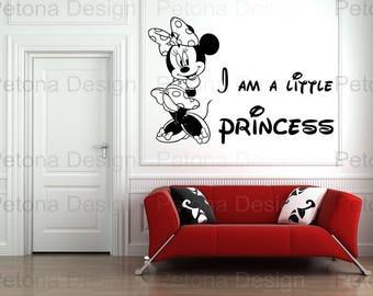 Minny Mouse Kids and Nursery Wall Art