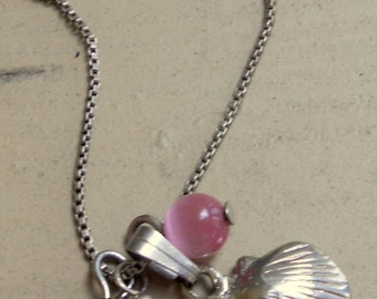 Little Seashell Charm Necklace