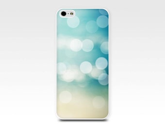 bokeh iphone case 6 nautical iphone 5s case iphone 4s case abstract iphone case 6 beach blue iphone case 4 iphone 5 case pastel geometric