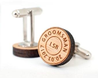 Groomsman cufflinks, Wedding Cufflinks, cufflinks for men, cufflinks groomsmen