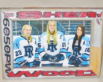 4 x 6 Hockey Stick Frame - FREE SHIPPING in US  (#3539)