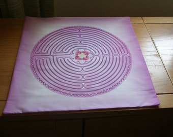 Altar Cloth or Tarot Cloth - Rosarian Labyrinth - Pagan or Wicca Altar Cloth, Designed by Wendy Wilson of Magic in Your Living Room