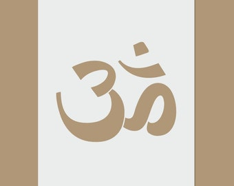 Sacred Ohm - Sacred Geometry Stencil