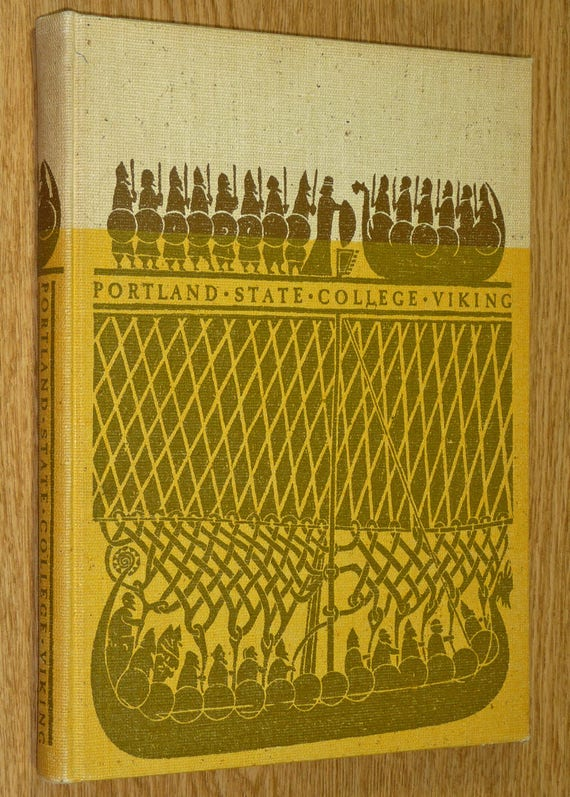 Portland State College (University) 1962 Yearbook (Annual) - Viking Oregon OR Multnomah County