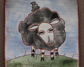 Sheep Tile~909