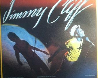 Jimmy Cliff In Concert The Best Of Vinyl Reggae Record Album
