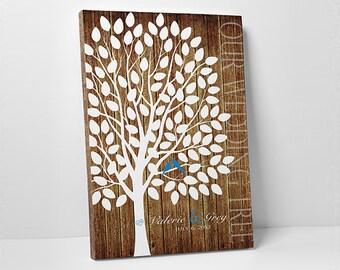 Rustic Wedding Guest Book Alternative Custom Guest Book Wedding Tree Guest Book Wedding Guestbook Alternative Wedding Guest Book